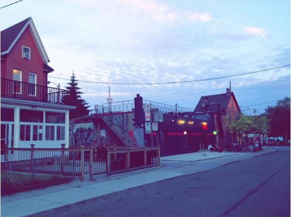 The last lights of summer (Little Italy, Toronto, August, 2015)